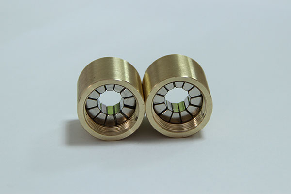 Brass Composite Neodymium Magnet Cylinder Assembly