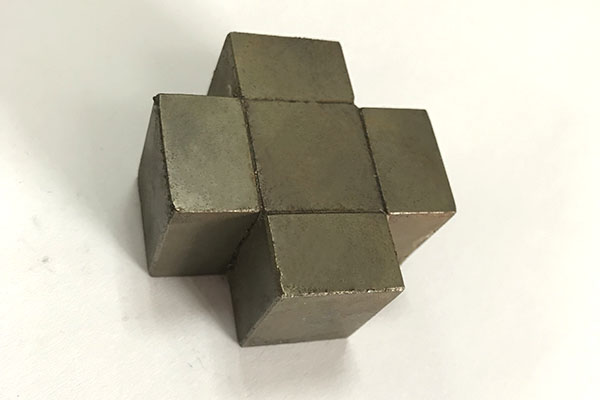 Block Halbach Array Neodymium Magnet Assembly