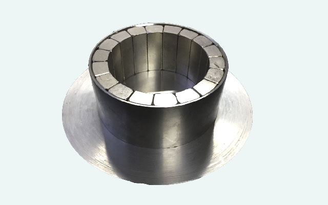 Big Cylinder Halbach Array Neodymium Magnet Assembly