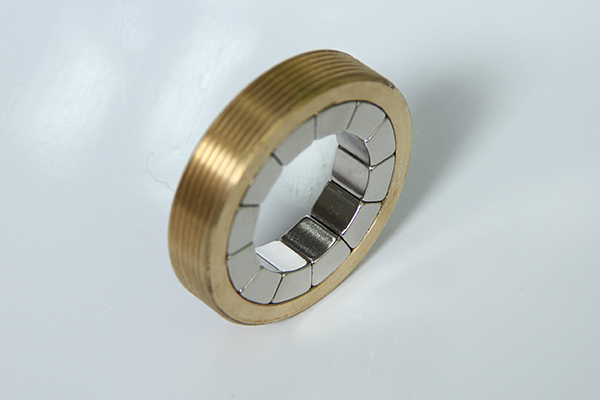 Neodymium Magnet Assembly with External Thread
